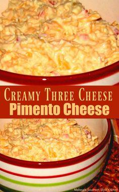 Creamy Three Cheese Pimento Cheese