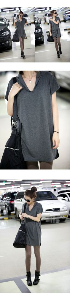 2013 summer women plus size clothing loose fashion turn-down collar long t-shirt short-sleeve