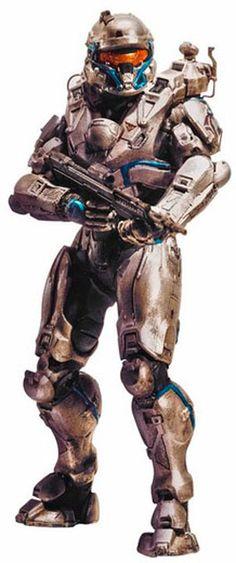Figura Spartan Tanaka 15 cm. Halo 5. Serie 1. McFarlane Toys Si te gusta el videojuego Halo no te pierdas esta estupenda figura articulada de Spartan Tanaka de 15 cm, fabricada con material de PVC y de la Serie 1. Una figura con un correcto moldeado y pintado que podrá ser una buena pieza para tu colección del videojuego Halo 5.