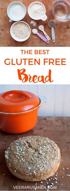 There's nothing like home baked bread. With this recipe you'll bake the perfect gluten free bread.