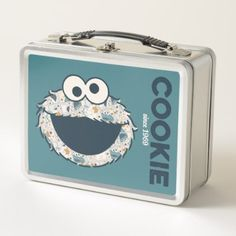 Cookie Monster   Cookie Since 1969 Metal Lunch Box - kitchen gifts diy ideas decor special unique individual customized