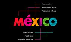 See how MBLM showcased Mexico as a vibrant destination, celebrated its cultural diversity, and increased tourism flow by developing a new country brand. City Branding, Destination Branding, Logo Branding, Branding Design, Logo Design, Sa Tourism, Mexico Tourism, Mexico Travel, Mexico Country