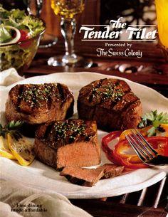 Tender Filet cover for 1999.