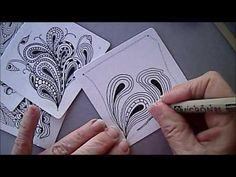 Pais Tangle Pattern Lesson #83 - YouTube