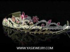 Top 7 tiara inspiration: princess look & feel - YouTube