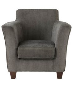 Buy Kelly Fabric Chair - Charcoal at Argos.co.uk - Your Online Shop for Armchairs and chairs.