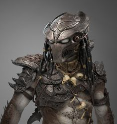 💀 💀 Predator Redesign by Tiago Rios Wolf Predator, Apex Predator, Alien Vs Predator, Alien Concept Art, Armor Concept, Mortal Kombat Art, Alien Character, Futuristic Armour, Cosplay Armor