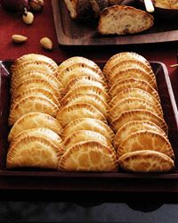 Roasted Winter Squash and Onion Turnovers Recipe