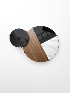Noon Table is a minimalist table created by Melbourne-based designer Ross Gardam Coffee Table Furniture, Coffe Table, Coffee Table Design, Coffee Table Top View, Interior Design Presentation, Architectural Presentation, Walnut Timber, Lounge Design, Minimalist Decor