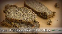 PAN SUPERSACIANTE DE CHÍA Y SEMILLAS Sin Gluten, Banana Bread, Keto, Tortillas, Desserts, Videos, Food, Youtube, Ketogenic Recipes