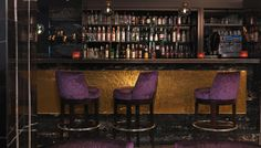 Dial Bar Interior Design of Radisson Blu Edwardian Mercer Street Hotel London