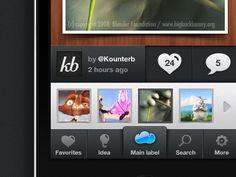 Bunny Iphone App by Sebastien Gabriel