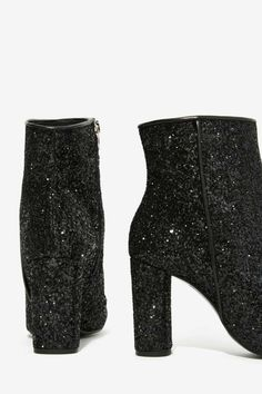 Crosswalk Stardust Glitter Booties//