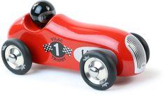 voiture en bois rouge Vilac wood red car