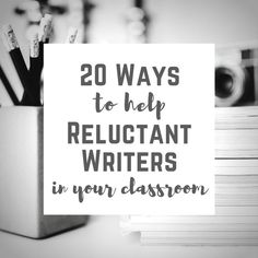 Ways to design your classroom to prevent reluctance in writers, along with strategies to help even the most reluctant writers to start writing. Paragraph Writing, Narrative Writing, Opinion Writing, Persuasive Writing, Writing Workshop, Teaching Writing, Start Writing, Kindergarten Writing, Writing Notebook
