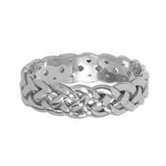 """Basket & Weaves Large Weave 8"""" Bangle from Arthur Court in Gainesvile, FL from Kitchen & Spice"""