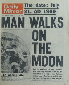 La muerte de Neil Armstrong nos recuerda la portada de aquel 21 de julio de 1969 cuando el hombre pisó la Luna / Neil Armstrong's death reminds us that cover of July 21, 1969 when man landed on the moon
