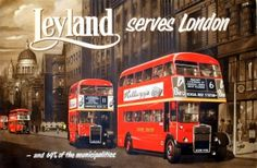 Celebrating the Year of the Bus, London 2014 - visit our blog page at http://antikbarposters.wordpress.com/ for our online slideshow celebration of the iconic London Bus through our original vintage posters, from the 1930s to 1970s. ~ http://www.antikbar.co.uk/ ~