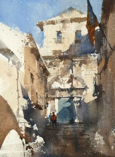 Plein air and demo by Chien Chung Wei, Workshop , Girona 2016. With Enjoy Painting Catalonia