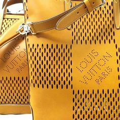 Louis vuitton. Perforated leather bag...