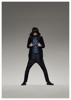 Kasabian's Sergio Pizzorno stars in G-Star's latest campaign for AW13.