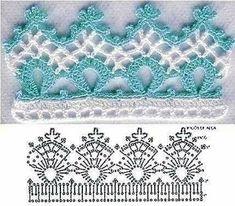 Crochet spouts with graphics Crochet Bolero, Crochet Bra, Crochet Bikini Pattern, Crochet Lace Edging, Crochet Diagram, Crochet Chart, Thread Crochet, Irish Crochet, Crochet Doilies