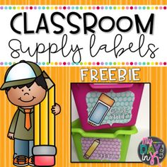 Teachers love to organize and these free supply labels can help you do just that. Inspired by the Soft Bright colors this packet included 16 school supply labels as well as a few bonus surprises. What's Included:16 School Supply LabelsGlue SticksGlue BottlesErasersCrayonsMarkersHighlightersExpo MarkersDicePlay DoughPencilsPaper ClipsPapersFoldersClipboardsRulersScissors***Bonus*** A few extra signs included to help organize your classroom.