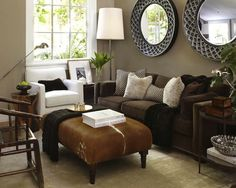 When you decorate around dark couches in tints like brown, blue or black, you can choose from a plethora of colors to adorn the room. Description from pinterest.com. I searched for this on bing.com/images