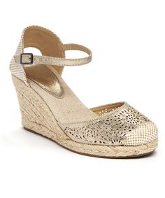 Loving this Nude Candence Espadrille on #zulily! #zulilyfinds