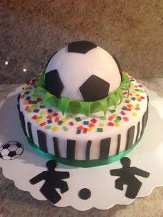Torta de fútbol                                                                                                                                                      Más