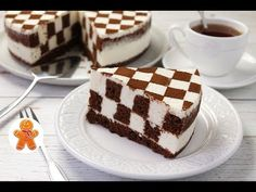 How to Make Chess Cake - Cooking Recipes Food Cakes, Chess Cake, Super Torte, Mini Mouse Cake, Chocolate And Vanilla Cake, Cake & Co, Russian Recipes, Dessert Drinks, Sweet Desserts