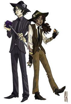 The Mafia from Underneath by sashkoboom.    The hades siblings... Hazel and Nico