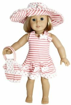 Beautiful Sundress for 18 Inch Dolls Including the American Girl Line by  Unique Doll Clothing.  19.99. Fits 18 Inch Dolls Including American Girl  Dolls. f2d8b1ef0f90