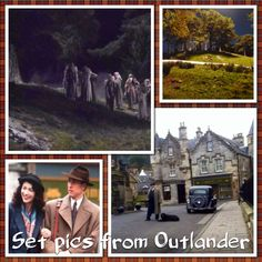 Our first peek of Outlander production!