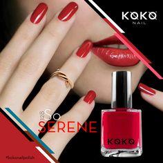 "The serenity of the hues. ""So Serene"" by KOKO #kokonailpolish #serene #mydubai #UAE #dubainails #france #polish"
