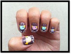 chick #nail #nails #nailart