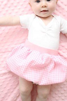 pink tutorial- baby bubble skirt – kojodesigns