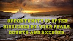 #quote - Opportunity is often disguised...more on purehappylife.com