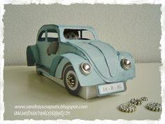 Beetle Car template Sandra's Scrapshop