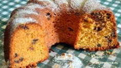 Κέικ εποχής με γλυκά κουταλιού Healthy Cake Recipes, My Recipes, Sweet Recipes, Cooking Recipes, Healthy Foods, Orthodox Easter, Recipe Box, Banana Bread, Muffins