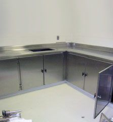 Ability Fabricators Inc. manufactures a number of products and instruments like cabinets, sinks, countertops, tables, carts and more used in clean room environments. Stainless Steel Containers, Conveyor System, Beverage, Countertops, Custom Design, Engineering, House Design, Cleaning, Room