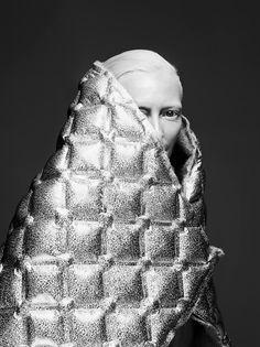 EDITORIAL+COVER: Tilda Swindon in Vogue Korea July 2017 by Sølve Sundsbø —  Photography: Sølve Sundsbø,  Model: Tilda Swindon,  Styling: Jerry Stafford,  Hair: Sam McKnight,  Make-Up: Sam Bryant,  Set Design: Ben Clark .