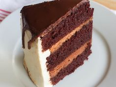 Salted Caramel Buttercream Chocolate Cake
