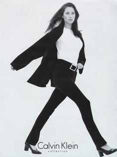 Christy Turlington for Calvin Klein 1996 Christy Turlington, Calvin Klein Ads, Fashion Models, Fashion Brands, Calvin Klien, Original Supermodels, 80s And 90s Fashion, Portfolio, Unisex