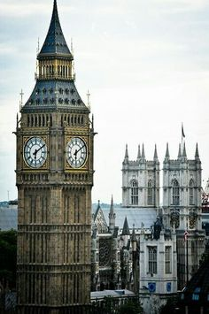 weheartit: Big Ben and Westminster Abbey - London England by mbell1975 on Flickr — FUCKITANDMOVETOBRITAIN