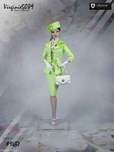 Tenue Outfit Accessoires Pour Fashion Royalty Barbie Silkstone Vintage 1437 | eBay
