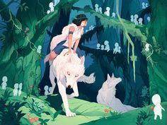 All Studio Ghibli Movies, Studio Ghibli Art, Japanese Characters, How To Make Comics, Hayao Miyazaki, Freelance Illustrator, Character Drawing, Pretty Art, Fan Art