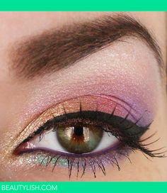 Rainbow make-up   Viktoria G.'s Photo   Beautylish