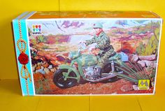 Vintage Action Figure Motorcycle Boxed Action Man Geyperman G.I.Joe | eBay