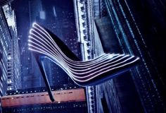 Light up your path with every step you take in the latest glow-in-the-dark heels!  The Italian company, renowned for making luxury shoes for women and men, has unveiled the Selene, an exclusively d…